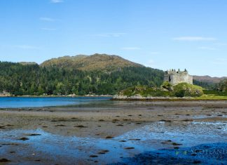 Castle Tioram, Loch Moidart, - Places to Visit Ardnamurchan