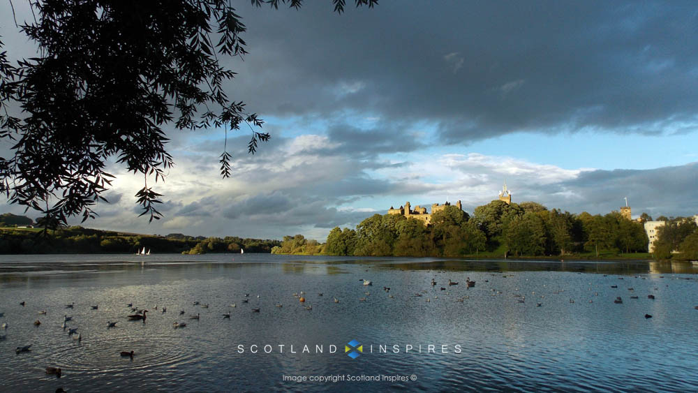 Linlithgow Palace, near Edinburgh. Places to Visit West Lothian