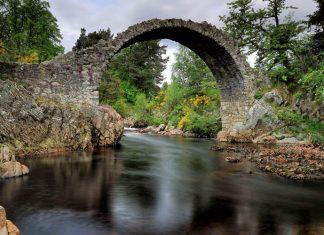 The Old Packhorse Bridge Carrbridge - Places to Visit Inverness-shire
