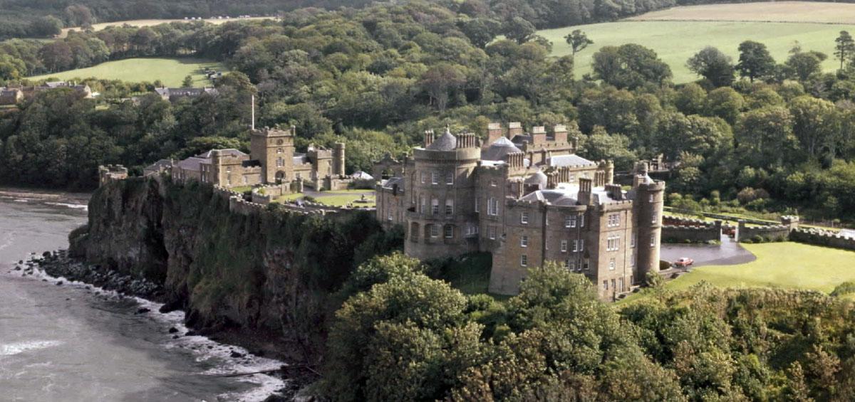 Culzean Castle, Ayrshire, Scotland.