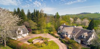 Gamefield 5 Star Holiday Home Crieff Perthshire